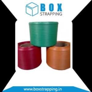 PP Box Strapping Manufacturer, Supplier and Exporter in Andhra-Pradesh, Madhya-Pradesh, Maharashtra, Tamilnadu, Kerala, Goa, Rajasthan