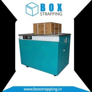 Semi Automatic Box Strapping Manufacturer, Supplier and Exporter in Ahmedabad, Gujarat, India